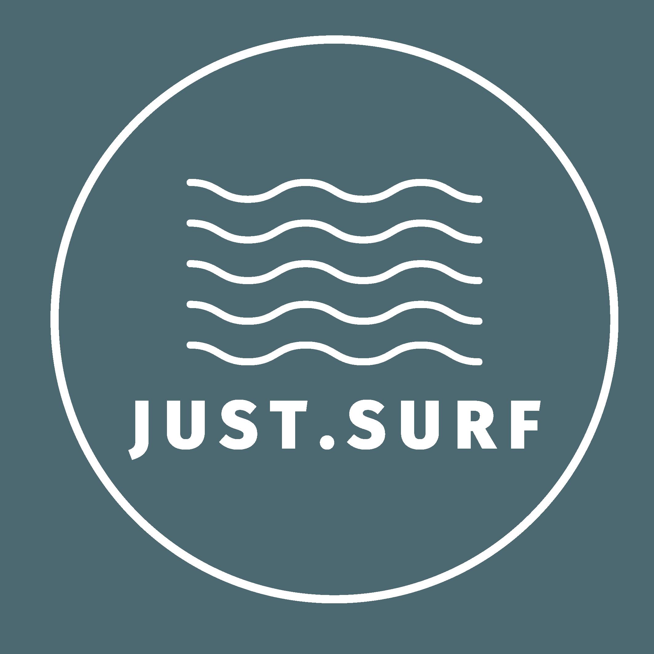 JUST SURF LOGO